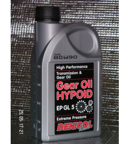 DENICOL olej Hypoid GEAR OIL EP 80W90 - 1L