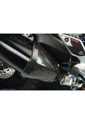 Karbónové kryty výfuku Yamaha